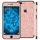 1 x Glitzer-Folienset für Apple iPhone 7 Roségold