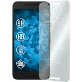 1 x Google Nexus 5X Protection Film Tempered Glass clear