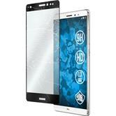 1 x Huawei Mate S Glas-Displayschutzfolie klar full screen schwarz