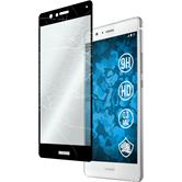 1 x P9 Lite Protection Film Tempered Glass clear full screen black