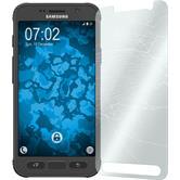 1 x Samsung Galaxy S7 Active Película protectora de vidrio templado claro