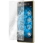3 x Xperia M5 Protection Film Tempered Glass clear