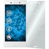 1 x Sony Xperia X Compact Glas-Displayschutzfolie klar