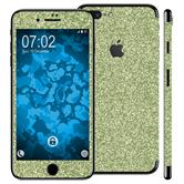 2 x clear foil set for Apple iPhone 7 Plus green