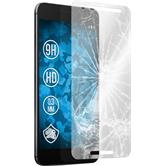 2x Nexus 6P klar Glasfolie