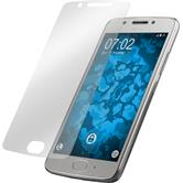 2 x Moto G5 Protection Film clear