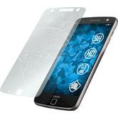 2 x Lenovo Moto Z Force Glas-Displayschutzfolie klar