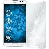 2 x LG G Pro Lite Glas-Displayschutzfolie klar