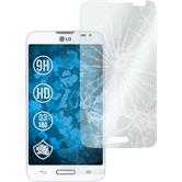 2 x LG L70 Glas-Displayschutzfolie klar