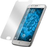 2 x Moto E4 Protection Film clear curved