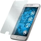 2 x Moto E4 Protection Film Tempered Glass clear