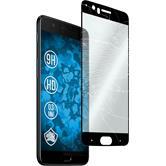 2x OnePlus 5 Pellicola Protettiva Vetro Temperato chiaro full screen nero