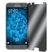 2x Galaxy J3 Emerge Privacy Glasfolie