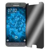 2 x Galaxy J3 Emerge protector de pantalla Confidencial