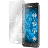 2 x Samsung Galaxy J5 (J500) Protection Film Tempered Glass clear