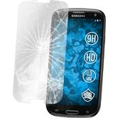 2 x Samsung Galaxy S3 Neo Glas-Displayschutzfolie klar