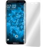2 x Galaxy S8 Plus Schutzfolie klar curved