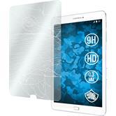 2x Galaxy Tab E 9.6 klar Glasfolie