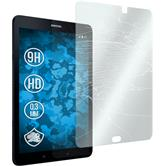 2x Galaxy Tab S3 9.7 klar Glasfolie