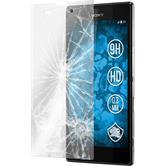 2 x Sony Xperia T3 Glas-Displayschutzfolie klar