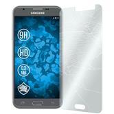 3x Galaxy J3 Emerge klar Glasfolie