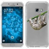 Samsung Galaxy A3 2017 Coque en Silicone animaux vecteur sloth M6