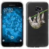 Samsung Galaxy A7 (2017) Silicone Case vector animals sloth M6