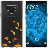 Samsung Galaxy Note 9 Silicone Case autumn M1