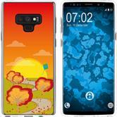 Samsung Galaxy Note 9 Silicone Case autumn M2