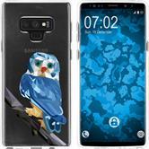 Samsung Galaxy Note 9 Silikon-Hülle Vektor Tiere  M1