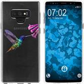 Samsung Galaxy Note 9 Silicone Case vector animals M3
