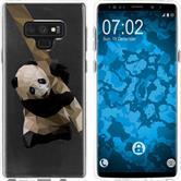 Samsung Galaxy Note 9 Silikon-Hülle Vektor Tiere  M4