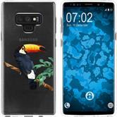 Samsung Galaxy Note 9 Silikon-Hülle Vektor Tiere  M5