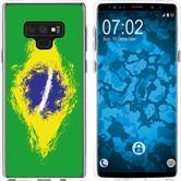 Samsung Galaxy Note 9 Silicone Case WM Brazil M3