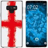 Samsung Galaxy Note 9 Silicone Case WM England M4