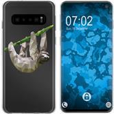 Samsung Galaxy S10 Silikon-Hülle Vektor Tiere  M6