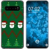 Samsung Galaxy S10 Silikon-Hülle X Mas Weihnachten  M7