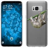 Samsung Galaxy S8 Plus Custodia in Silicone vettore animali  M6