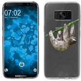 Samsung Galaxy S8 Custodia in Silicone vettore animali  M6