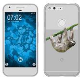 Google Pixel Silikon-Hülle Vektor Tiere  M6