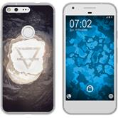 Google Pixel XL Silicone Case Element earth M2