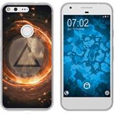 Google Pixel XL Silicone Case Element fire M3