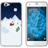HTC One A9s Silikon-Hülle X Mas Weihnachten  M6