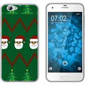 HTC One A9s Silikon-Hülle X Mas Weihnachten  M7