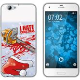HTC One A9s Silikon-Hülle X Mas Weihnachten  M8