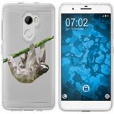 HTC One X10 Silicone Case vector animals sloth M6