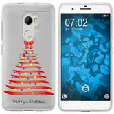 HTC One X10 Silicone Case Christmas X Mas M1