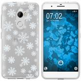 HTC One X10 Silicone Case Christmas X Mas M2