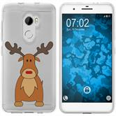 HTC One X10 Silicone Case Christmas X Mas M3