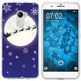 HTC One X10 Silicone Case Christmas X Mas M4